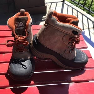 The North Face Kids Waterproof Hiking/Snow Boots
